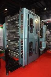 Web Offset Press Printing Machine