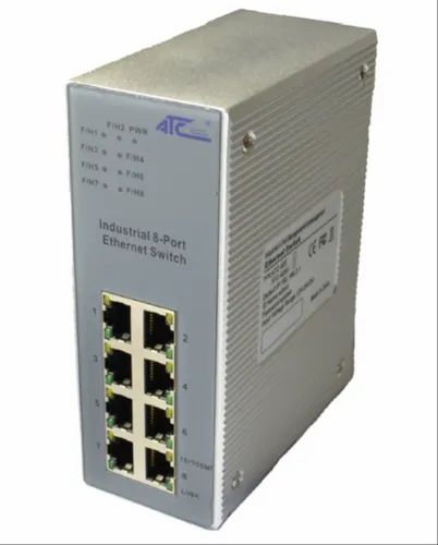 ATC-408/ATC-408U 8 8 Port Ethernet Switch for Telecommunications