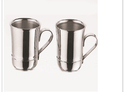 Cappuccino Stainless Steel Mugs