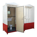 Mild Steel Portable Toilet Cabin