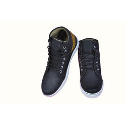 Casual Wear High Cut Canvas Casual Shoes, Size: 6-10