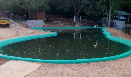 PVC Designed Big Artificial Agriculture Pond Construction