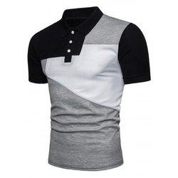Cotton Mens Collar Neck T Shirt