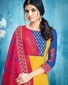 Ladies Cotton Printed Unstitched Salwar Suits