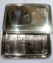 Erose Stainless Steel Baby Tray 18x12x3 For Clinic