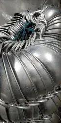 Mehta Round Aluminium Light Weight Kadai, Size: 10*14