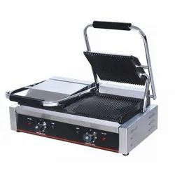 Double Sandwich Grill, For Commercial, Model Name/Number: MECG-813
