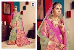 Rachna Cotton Sajili Catalog Saree Set for Woman 2