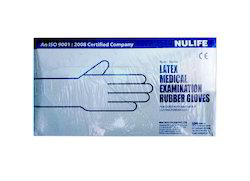Nulife Latex Medical Examination Rubber Gloves