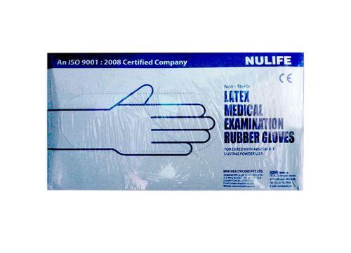 Medical Examination Gloves Nulife Latex Medical