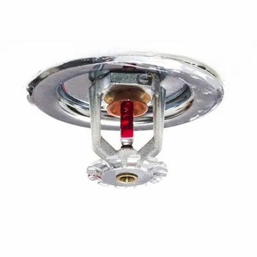 Indoor Ceiling Mounted Fire Fighting Sprinkler, For Domestic / Commercial, 68 Deg C