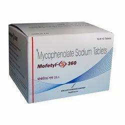 Mofetyl-S 360 Mycophenolate Sodium Tablet