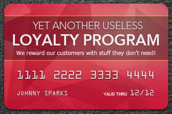 Pre Printed Loyalty Card