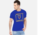 Royal Blue Men Disengage Rb T Shirt