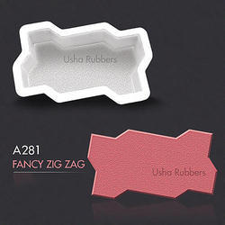 A 281 Fancy Zigzag Mould