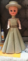 Full Length Handmade Baby Doll Dress, Size: Medium