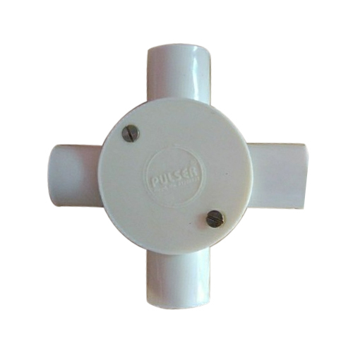 4 Way PVC Junction Box, Electrical Pvc Junction Box, Polyvinyl ...