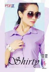 Rung Shirty Heavy Soft Linen Stylish Plain Shirts Catalog Collection