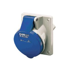 1463 Panel Mounted Industrial Socket Receptacle