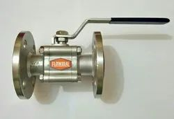 Three Piece Flanged Ball Valve.
