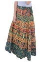 Indian Multi Camel Elephant Women Cotton Mandala Rapron Skirt