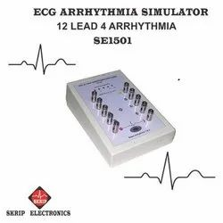ECG Simulator with LCD Display
