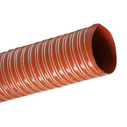 Single Ply Fiberglass Silicone Coated Hose Pipe