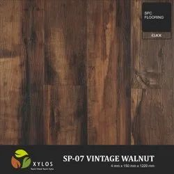 Vintage Walnut SPC Wooden Flooring