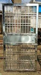 Steel single gate