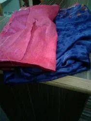Pure Chiffon Blue Printed Saree