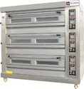 Electric 3 Deck 9 Tray Oven