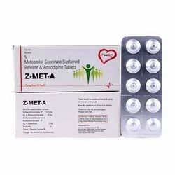 Metoprolol Succinate Sustained Release and Amlodipine Tablets