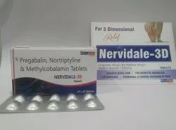 Pregabalin and Nortriptyline & Methylcobalamin  Tablet