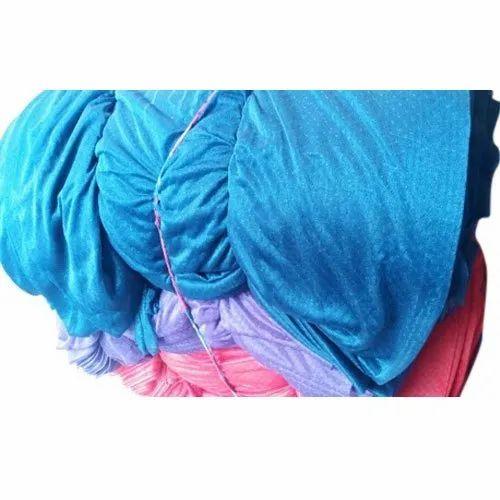 Garments Plain Net Fabric, Gsm: 100-200, Packaging Type: Lump