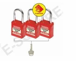 Lockout Tagout Premier Vinyl Coated Yellow & Black Lockout Hasp