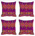 Triangle Pattern Digitally Printed Cushion Cover (12x12)