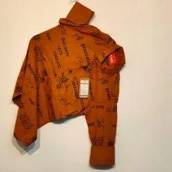 Mens Stylish Cotton Printed Shirt