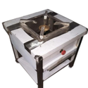 Stainless Steel Ss Single Gas Burner, 1
