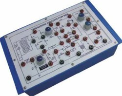 Triggering Circuits for SCR Trainer Kit