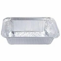 Silver Foil Container
