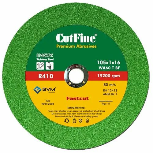 CUTFINE 4 Inch Green Inox Cutting Wheel