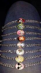 God Fancy Silver Gents Bracelet