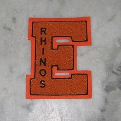 Single Letter Chenille Patch For Jackets