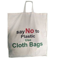 Handled Available colors Cotton Cloth Carry Bags, Capacity: 5-10