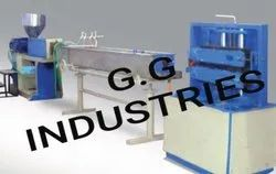 G.G Industries PVC Conduit Pipe Machine