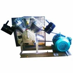 Jsi Brand 7.5 Hp Double Cylinder Borewell Compressor With Suguna A-Class Motor Rs.52000