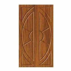 Hinged Interior Membrane Wooden Waterproof Door, For Home
