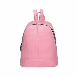 Parachute Fabric Plain Girls College Bag