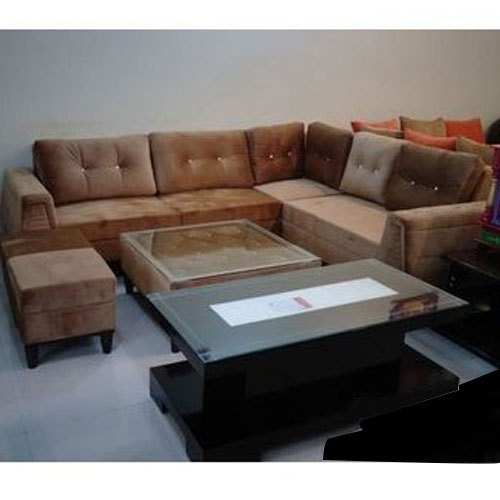 Wooden King Size Sofa Set