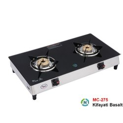 MC-275 Glass  Two Burner Stove